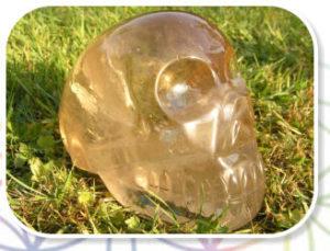 kristallen schedel