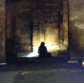 Isis Kapel Seti I Abydos